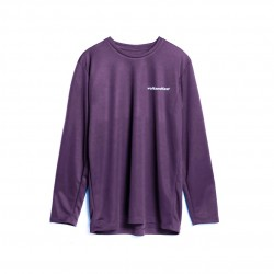 Volt and Fast BOLT-Tee Women's Long Sleeve Purple