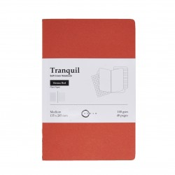 Akasa Sienna Red Tranquil Notebook Medium