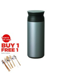 Kinto Travel Tumbler 500ml Silver Original Ready Stock