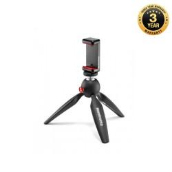 Manfrotto Mini Tripod Black with Universal Smartphone Clamp