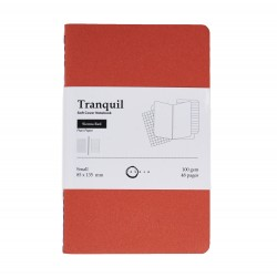 Akasa Sienna Red Tranquil Notebook Small