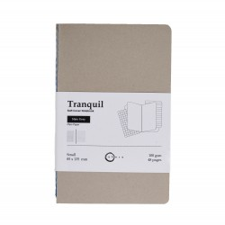 Akasa Slate Grey Tranquil Notebook Small