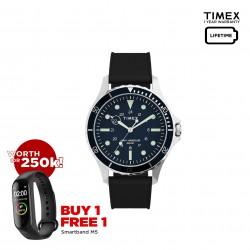 Timex Navi XL 41mm Silicone Strap Watch - TW2U55700