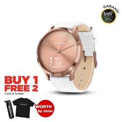 Garmin Vivomove HR Premium Rose Gold-White
