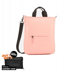 Rains Tote Crossbody Style Coral