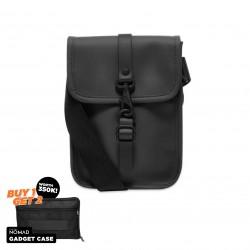 Rains Flight Bag - Black