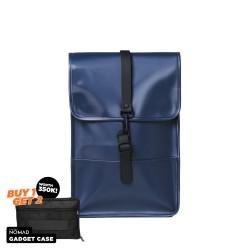 Rains Backpack Mini Shiny Blue