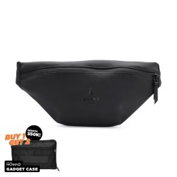 Rains Bum Bag Black