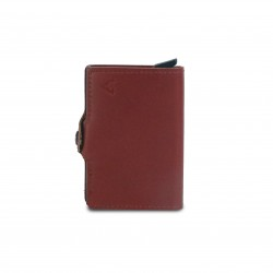 Press Play Classic V2 RFID Leather Pop Up Card Case Wallet Cider Brown