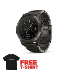 Garmin D2 Delta PX - Aviator Watch with Titanium Band