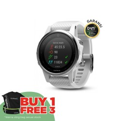 Garmin Fenix 5S - Carrara White