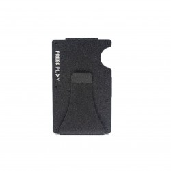 Press Play Grip RFID Card Wallet Onyx Black