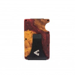 Press Play Grip RFID Card Wallet Ruby Red
