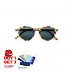 Kacamata anti sinar UV matahari Izipizi Sun D Blue Tortoise Original