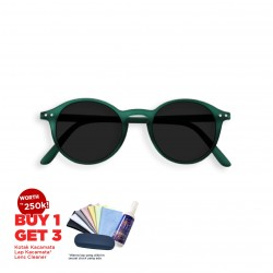 Izipizi SUN - #D Green Crystal Grey Lenses