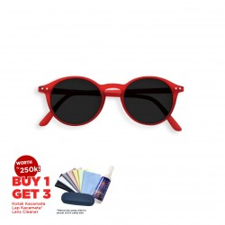 Izipizi SUN - #D Red Crystal Grey Lenses