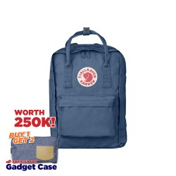"Fjallraven Kanken Laptop 13"" - Blue Ridge"