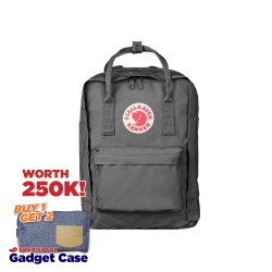 "Fjallraven Kanken Laptop 13"" - Super Grey"