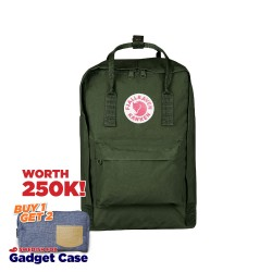 "Fjallraven Kanken Laptop 15"" - Forest Green"