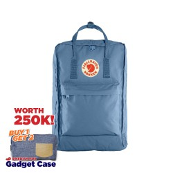 "Fjallraven Kanken Laptop 17"" - Blue Ridge"