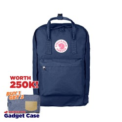 "Fjallraven Kanken Laptop 17"" - Royal Blue"