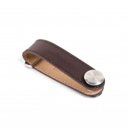 Press Play Revolve Leather Key Holder Oak