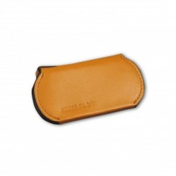 Press Play SnapKey Magnetic Leather Key holder Brown