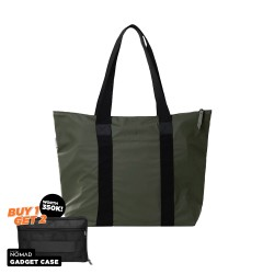 Rains Tote Bag Rush Green