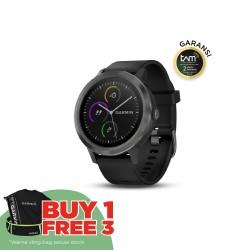 Garmin Vivoactive 3 Premium - Black/Gunmetal