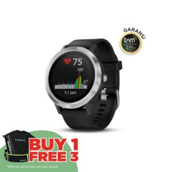 Garmin Vivoactive 3 - Black/Stainless