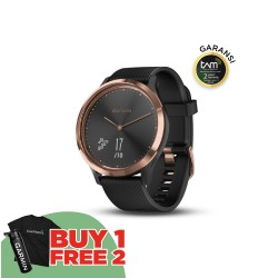 Garmin Vivomove HR Sport - Black Rose Gold Regular