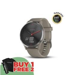 Garmin Vivomove HR Sport - Sandstone Black S/M
