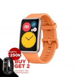 Huawei - Watch Fit Cantaloupe Orange