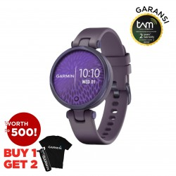 Garmin Lily Silicone Midnight Orchid
