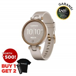 Garmin Lily Silicone Light Sand Rose Gold