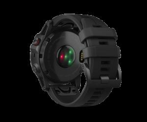 Garmin Fenix® 5X Plus - Sapphire DLC Carbon Gray W/ Black Band