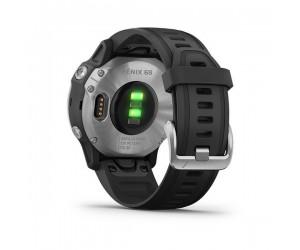 Garmin Fenix 6S - Silver with Black Band