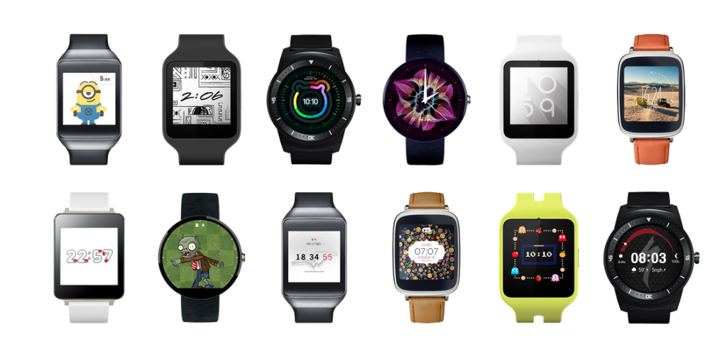 Smartwatch berbasis Android Wear