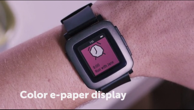 Pebble Time Color e-paper Display
