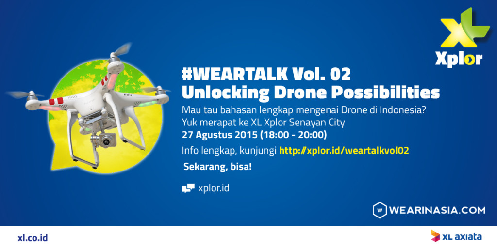 Weartalk 02 Unlocking Drone Possibilities