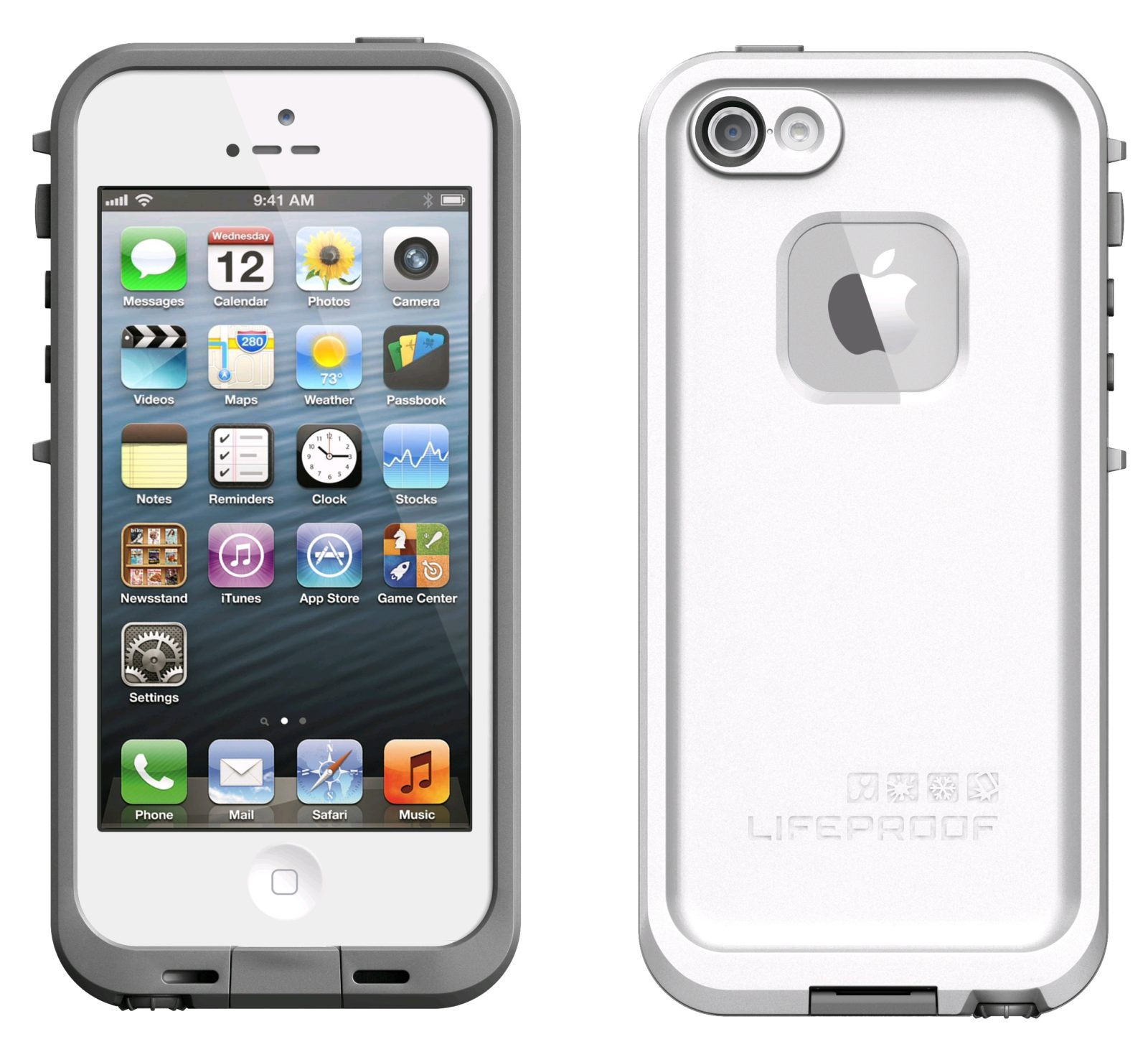 Case Lifeproof untuk iPhone 5. Image by expansys.com